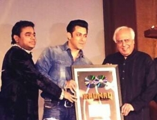Salman Khan launches A.R. Rahman and Kapil Sibal album Raunaq Photos
