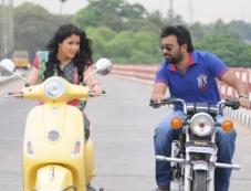Sasi Kumar and Lavanya Tripathi still from film Bramman Photos