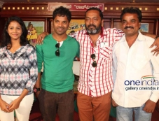 Sathish Ninasam, Subhiksha at Anjada Gandu Success Meet Photos