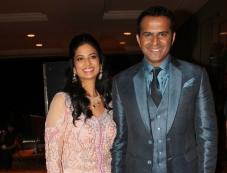 Siddharth Kannan and Neha Agarwal wedding reception Photos