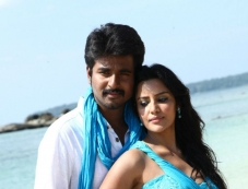 Sivakarthikeyan and Priya Anand still from Naa Love Story Modalaindi Photos