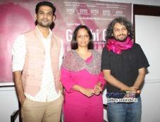 Sohum Shah, Nishita Jain and Anand Gandhi at press interaction of documentry film Gulabi Gang Photos