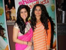 Vidya Balan promote Shaadi Ke Side Effects on Bade Achhe Lagte Hain Photos