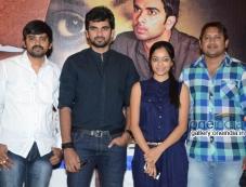 Ashok Selvan, Janani Iyer at Bhadram Movie Press Meet Photos