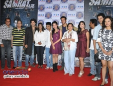 Celebs at Samrat and Co trailer launch Photos