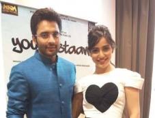 Jackky Bhagnani and Neha Sharma promote Youngistaan in Dubai Photos