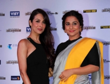 Malaika Arora Khan and Vidya Balan at the press conference of Indian Film Festival of Melbourne Photos