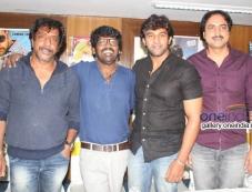 Om Prakash Rao, Nagashekhar, Chiranjeevi Sarja at Chandralekha Movie Press Meet Photos