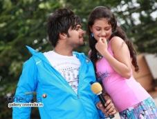 Pradeep and Kanika Tiwari in Kannada Movie Rangan Style Photos
