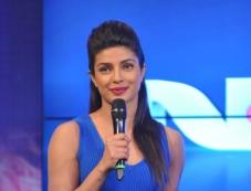 Priyanka Chopra at NDTV's first dual channel launch Photos