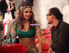 Priyanka Chopra's Rajnigandha Ad shoot Photos