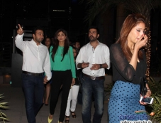 Raj Kundra, Shilpa, Harman and Bipasha Basu snapped at Yauatcha restaurant Photos