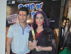 Sharman Joshi and Mahie Gill celebrates Holi at Mehboob Studio Photos