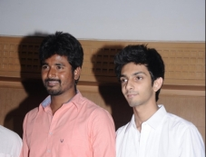 Siva Karthikeyan and Anirudh at Maan Karate film press meet Photos
