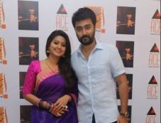 Sneha with husband Prasanna at Saga Charitable Trust event Photos
