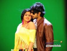 Sonu Chabra and Prajwal Devaraj in Kannada Movie Savaal Photos
