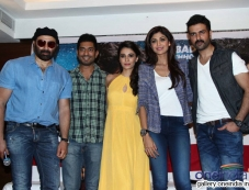 Sunny, Ayesha, Shilpa and Harman at media interaction of film Dishkiyaoon Photos