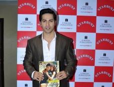 Varun Dhawan Unviels Stardust Magazine Photos