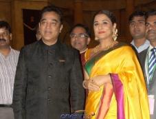 Vidya Balan & Kamal Hassan Gets Padmashree Award Photos
