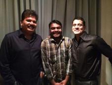Vikram at Shankar's Ai film party Photos
