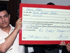 Aamir Khan announces his organs donation on Maharashtra Organ Donation Day Photos