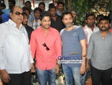 Allu Arjun-Trivikram New Movie Launch Photos