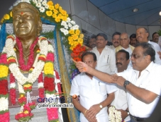 Ambareesh at Dr Rajkumar Birthday Celebration at Film Chamber Photos