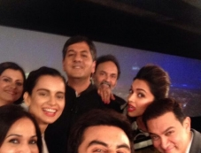 Celebs selfie at NDTV Indian of the Year Awards ceremony Photos
