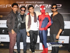 Celebs at The Amazing Spider-Man 2 film screening Photos