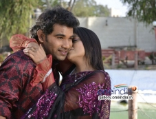 Dheeraj and Padmini stills from Vichakshana Movie Photos