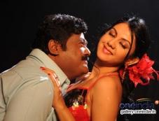 Jaggesh and Kamna Jethmalani in Kannada Movie Agraja Photos