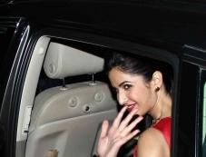 Katrina Kaif snapped with her Audi Q7 car Photos