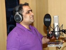 Kunal Ganjawala records song for the film Auto Romance In Mumbai Photos