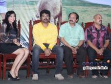 Pavana, Srujan Lokesh, Nagathihalli Chandrashekhar and V. Manohar at Typical Kailas Film Press Meet Photos
