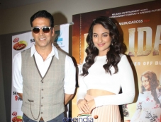 Promotion of film Holiday the sets of Zee TV's DID Little Master Season 3 Photos