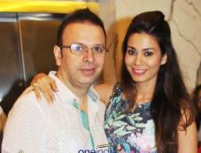Roshan Abbas with Wife at 2 States Special Screening at Yash Raj Studios Photos