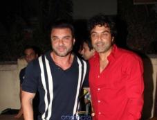 Sohail Khan and Bobby Deol at premiere of new tv show Ek Hasina Thi Photos