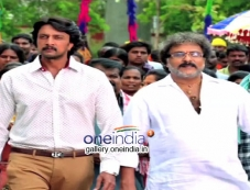Sudeep, Ravichandran in Kannada Movie Maanikya Photos