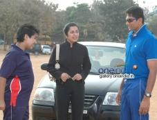 Venkatesh Prasad, Suhasini in Kannada Movie Sachin Tendulkar Alla Photos
