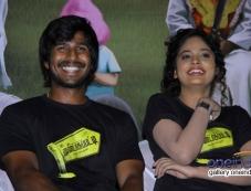 Vishnu and Nandita at Mundasupatti press meet Photos