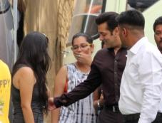 Actor Salman Khan Snapped at Mehbob Studio Bandra Photos