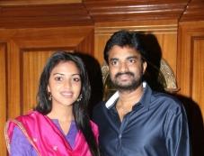 Director A. L. Vijay and Actress Amala Paul Press Meet Photos Photos