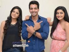 Sushma Raj, Harshvardhan Rane and Avanthika at Maaya Movie First Look Launch Photos