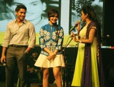 Naga Chaitanya, Samantha and Suma at Manam Movie Audio Celebrations Photos