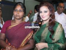 Muttu Lakshmi & Pooja Gandhi at Muttu Lakshmi Film Pressmeet Photos