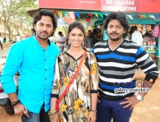 Nirranjan Poojasri and Guru in Kannada Movie Paipoti Photos