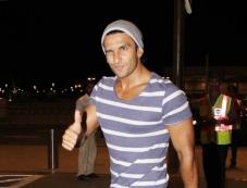Ranvir Singh Leaves to Cannes 2014 Photos