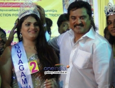 Sarathkumar at Koovagam Beauty Show Photos