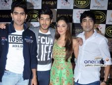 Vijendra Singh, Mohit Marwah, Kiara Advani, Arfi Lamba at Fugly Team Launched TAP Sports Bar Photos