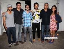 Vishesh Bhatt, Rajkummar Rao, Hansal Mehta, Patralekha at Citylights Special Screening Photos